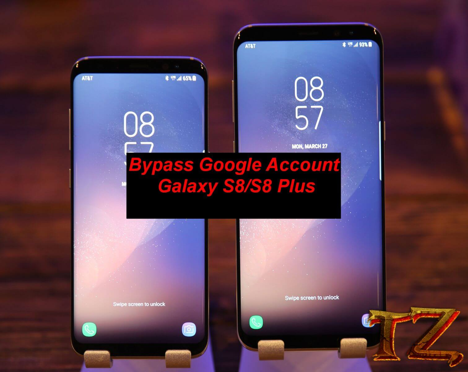 Samsung Galaxy S8/S8 Plus Bypass: Flash Combination ROM, Use APK