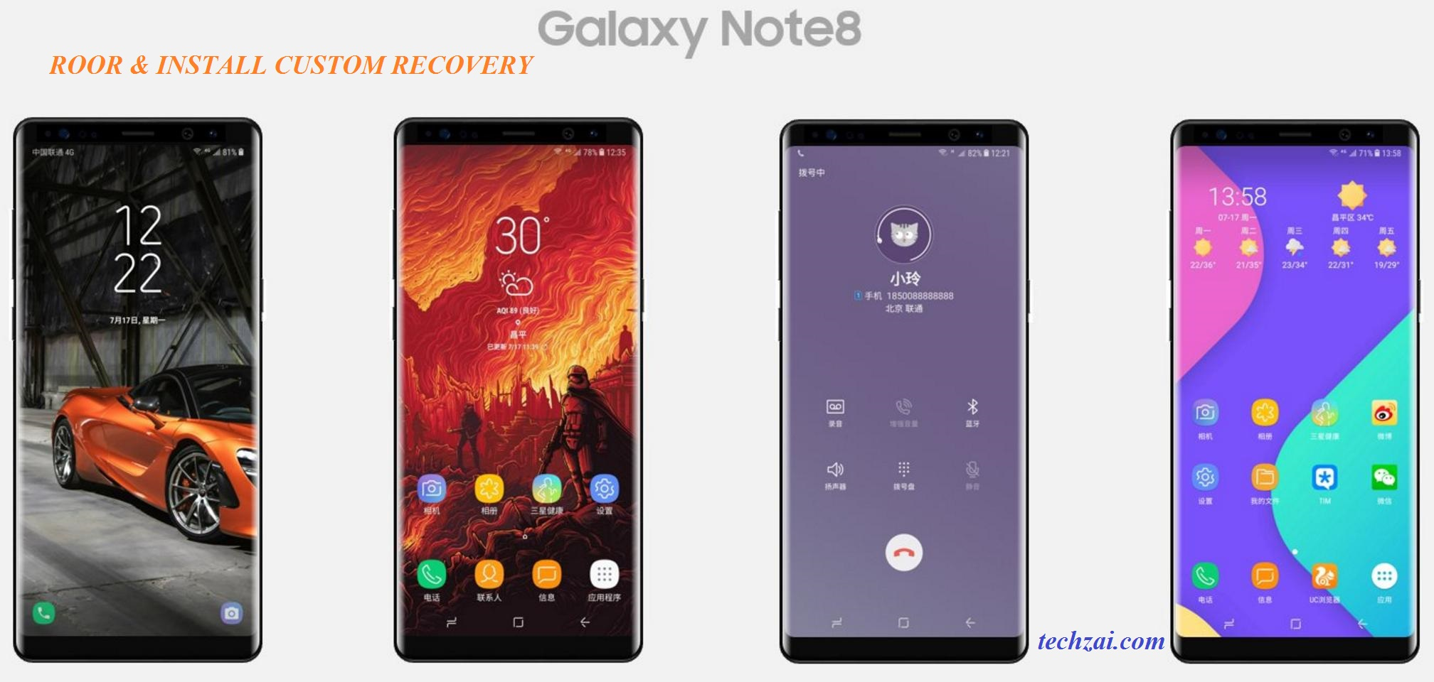 How To Root And Install Custom Recovery On Samsung Galaxy Note 8