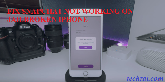 how to work snapchat on iphone how to fix snapchat not working on jailbroken iphone 5754
