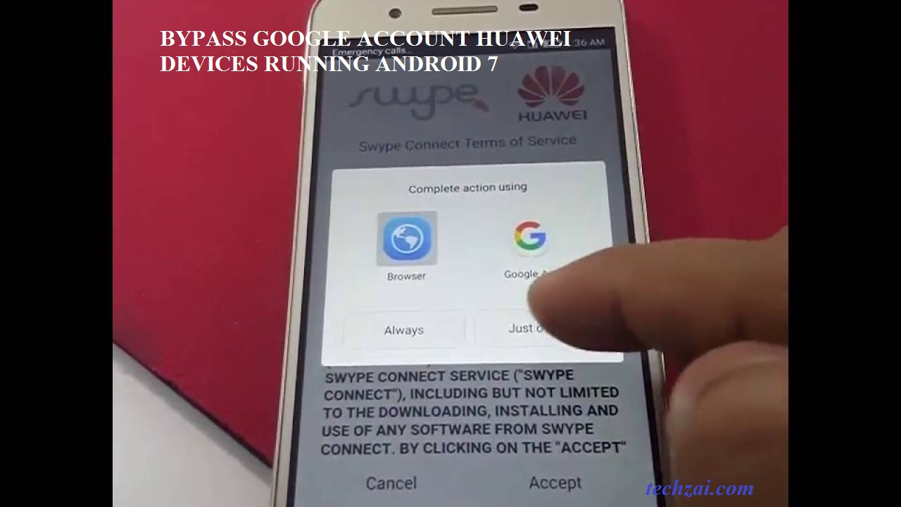Bypass Google Account Huawei Devices Running Android 7 0