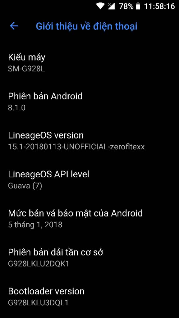 Android 8 1 LineageOS ROM For Galaxy Note 5