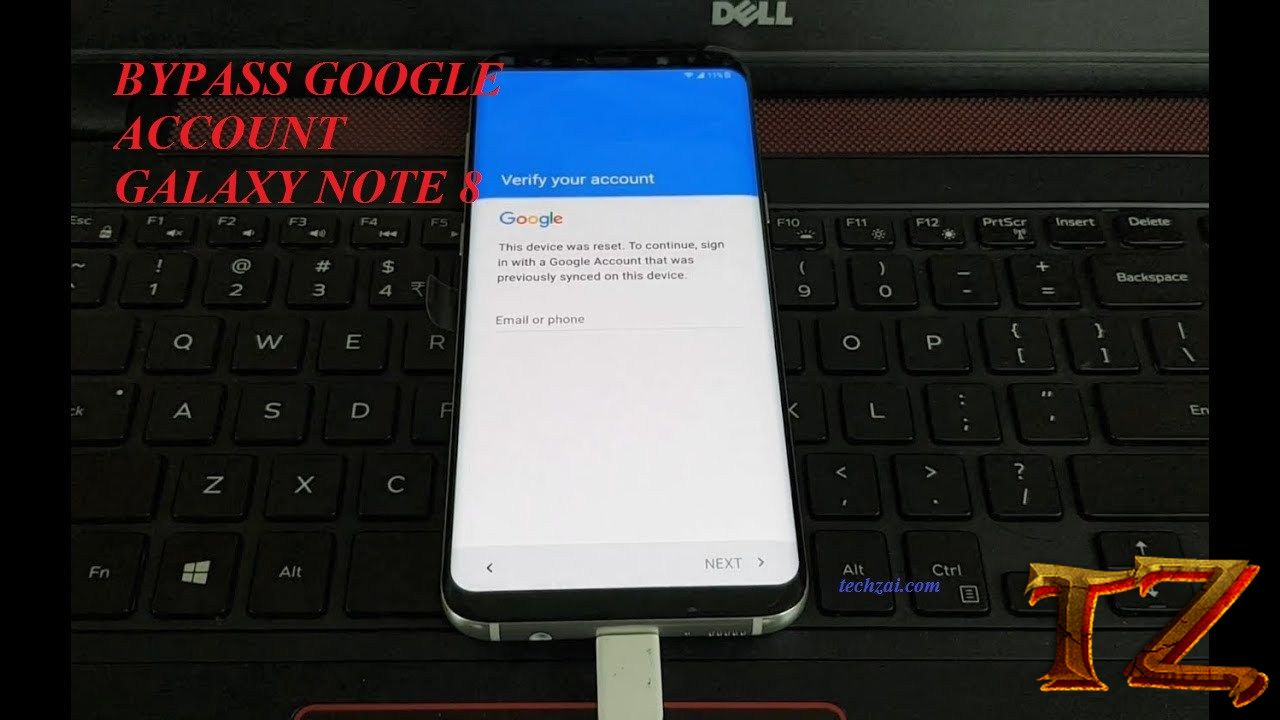 How To Remove Google Account For Samsung Galaxy Note 8