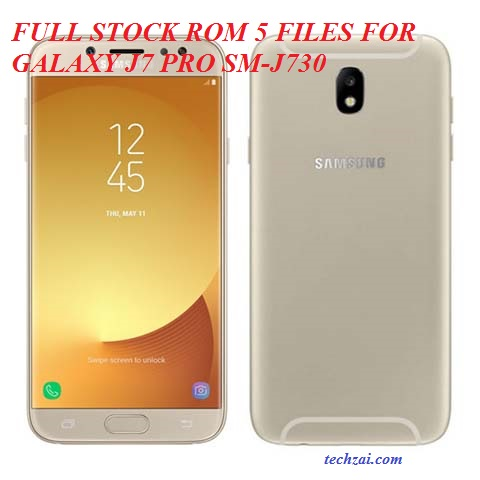 Full Stock ROM 5 Files For Samsung Galaxy J7 Pro (SM-J730) - Techzai