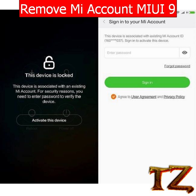 How To Remove Mi Account On MIUI 9- Techzai