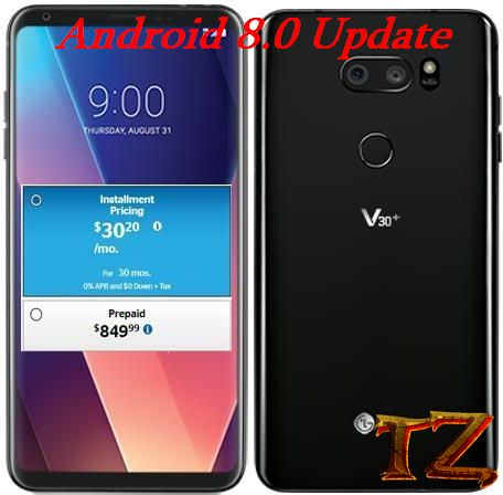How To Update Android 8 0 For LG V30 Plus