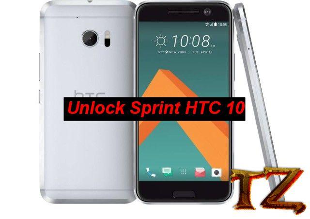 unlock htc 10 sprint