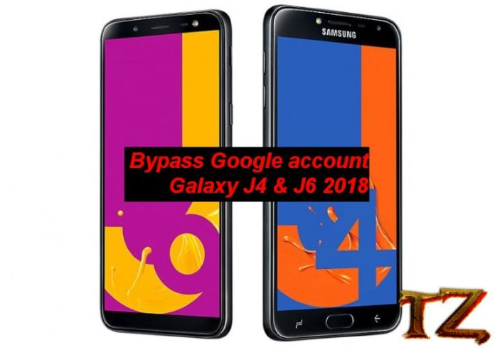 bypass Google account Galaxy J4 and J6 2018