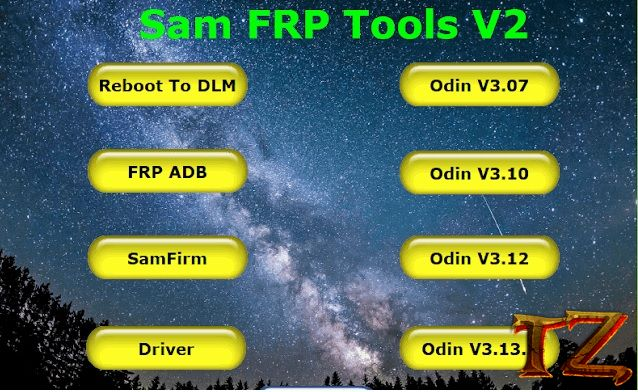 Samsung FRP Tool V2 to bypass Google Account