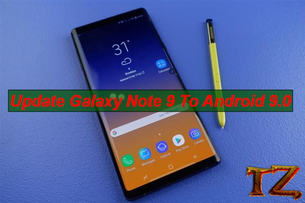 Android Pie for Galaxy Note 9