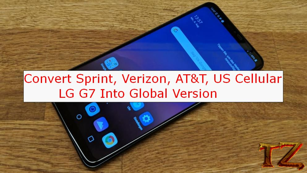 Convert Sprint, AT&T, Verizon, US Cellular G7 Into Global Version