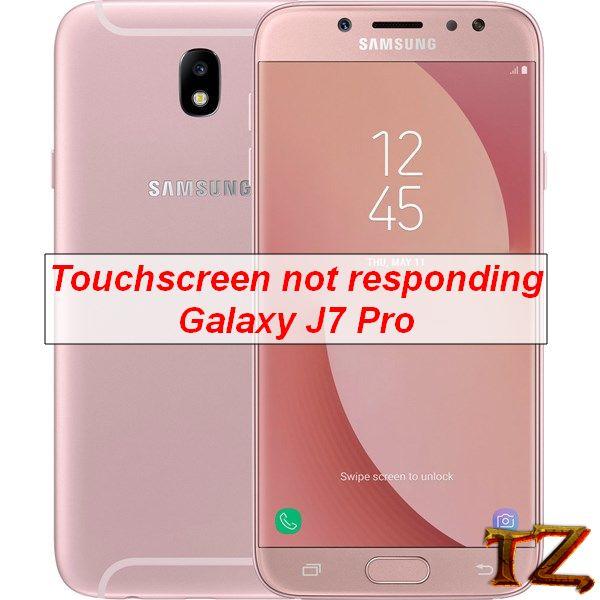 touchscreen not responding