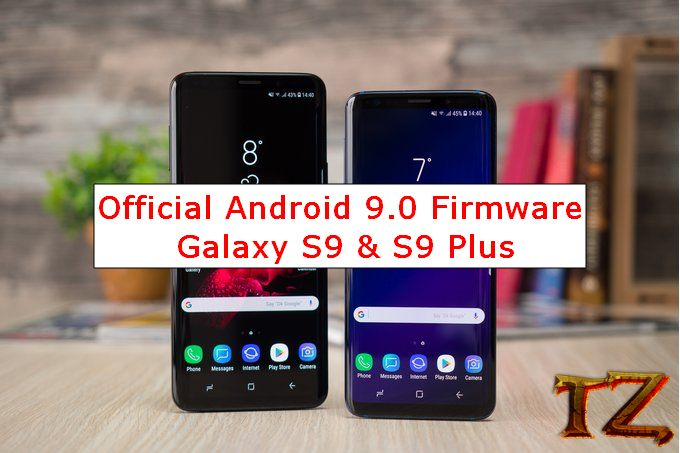 Android 9.0 firmware for Galaxy S9/S9 Plus