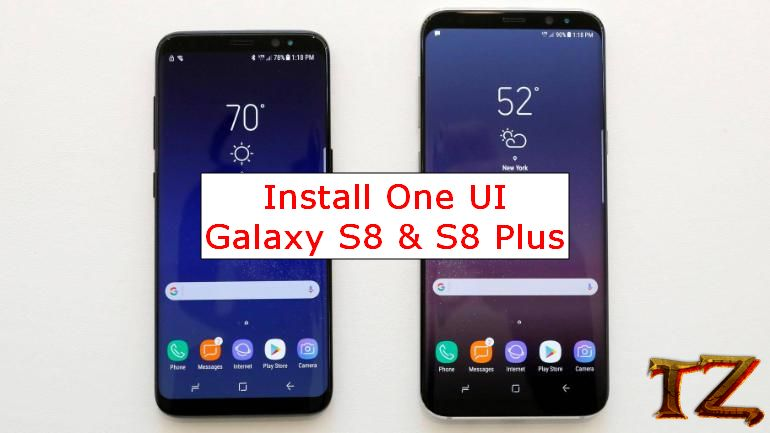 Android Pie update for Galaxy S8/S8 Plus