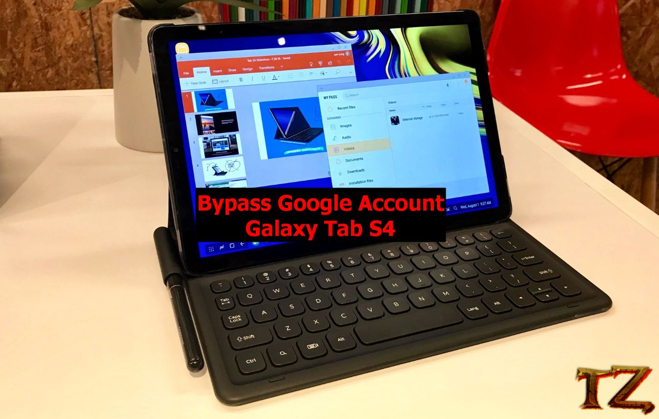 FRP bypass Galaxy Tab S4