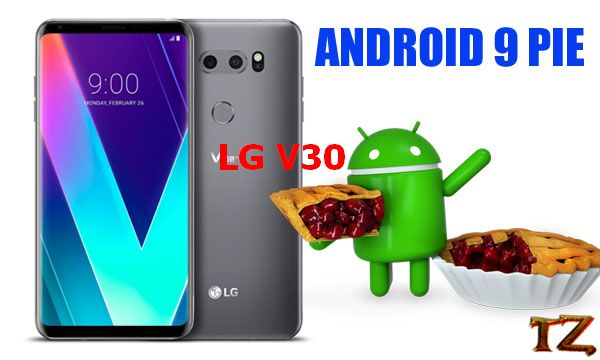 update LG V30 to Android Pie