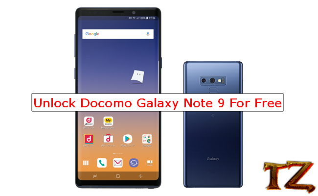 How To Unlock Docomo Samsung Galaxy Note 9 For Free